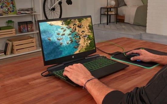 HP Pavilion Gaming 15-DK0750ND